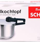 Schäfer 10117 - Snelkookpan - 4 liter - RVS