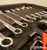 Toolwelle Platinum Gereedschapskoffer 300 delig