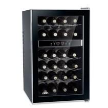 Professionele design wijnkoelkast 24 flessen 2 klimaatzones  1 deurs