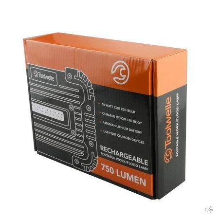 Toolwelle Toolwelle TW14 - Werklamp - inclusief powerbank - 750 lumen