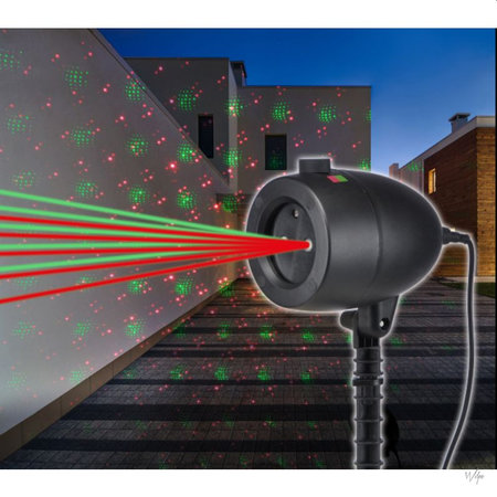 Ninyas Ninyas Ledd1 - LED Verlichting - sterrenhemel - Laser class II
