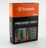 Toolwelle Toolwelle TW19 - Gereedschapsset - 39 delig - telefoonmakersset