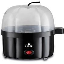 Lentz 10001 - Eierenkoker - 350 Watt - 7 eieren - zwart