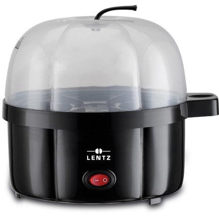 Lentz Lentz 10001 - Eierenkoker - 350 Watt - 7 eieren - zwart