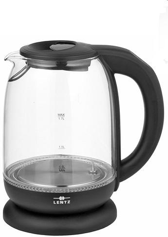 Lentz Lentz 74134 -  Waterkoker - glas - 1.7 liter