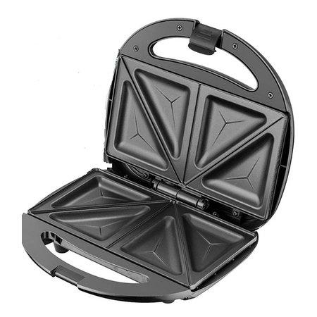Lentz Lentz 29016 - Sandwichmaker - zwart - 750 Watt