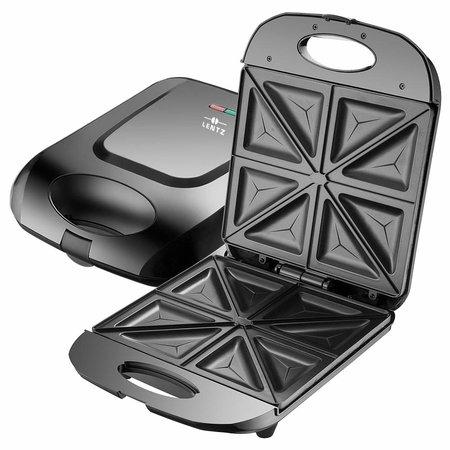 Lentz Lentz 29018 - Sandwichmaker - 1400 Watt - zwart