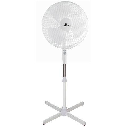 Lentz Lentz 80024 - Staande ventilator - Ø 40 cm - wit