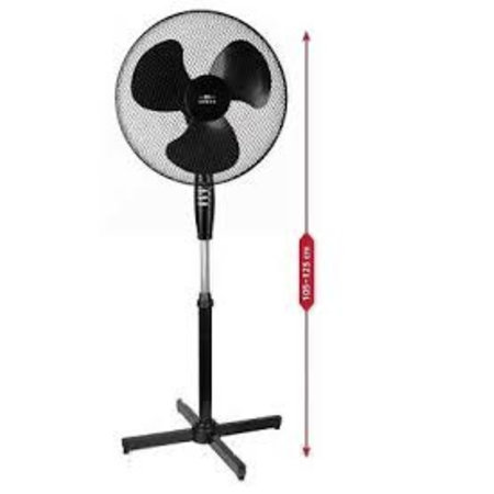 Lentz Lentz 80025 - Staande ventilator - Ø 40 cm - zwart