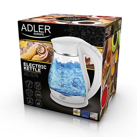 Adler - Kraft Adler AD1274 - Waterkoker - wit - 1.7 liter
