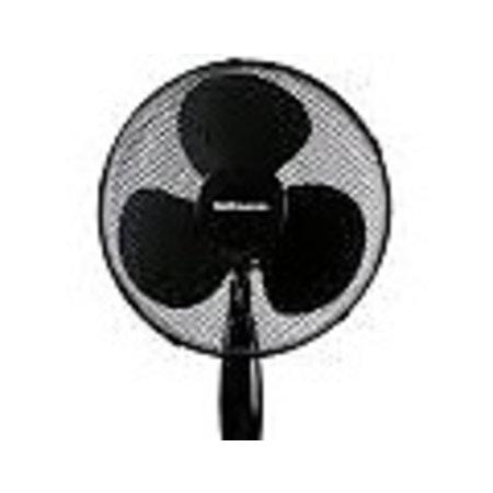 Lentz Lentz 80044 - Statiefventilator - Ø 40cm - zwart - inclusief afstandsbediening en timer