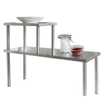 Michelino 46321 RVS keukenrek staand
