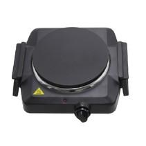 Lentz enkele kookplaat zwart - 1500 Watt