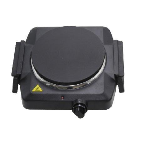 lentz Lentz enkele kookplaat zwart - 1500 Watt