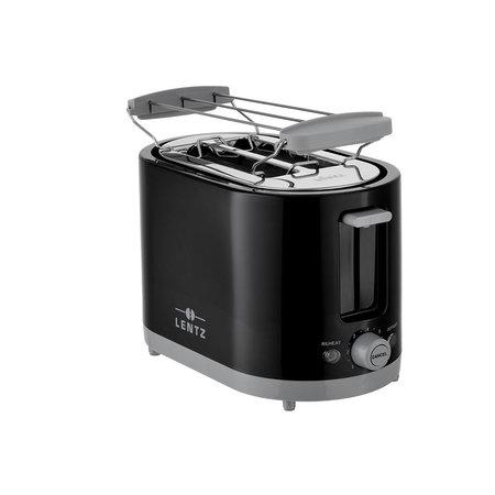 lentz Lentz Broodrooster - 650-750 watt - zwart