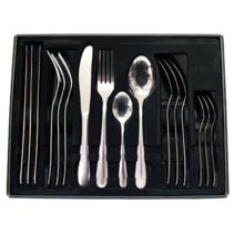 16-delige bestekset - MICHELINO - elk 4x messen, vork, lepel, koffielepel