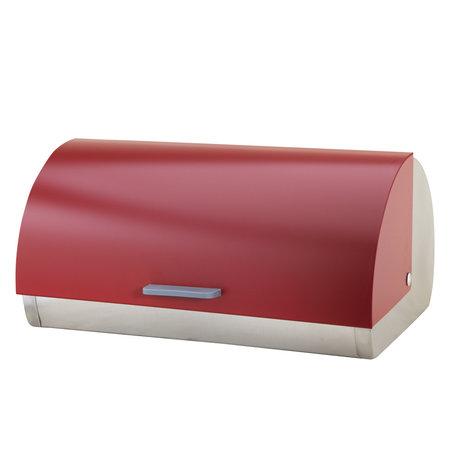 Michelino Michelino 46300 - Broodtrommel RVS - rood