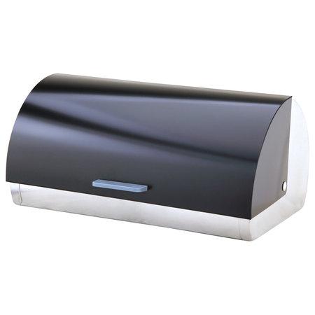 Michelino Michelino 46302 - Broodtrommel RVS - zwart