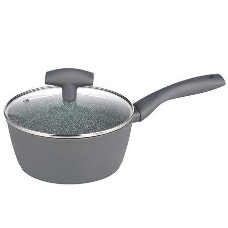 michelino Michelino 46112 - steelpan - 18cm - grijs