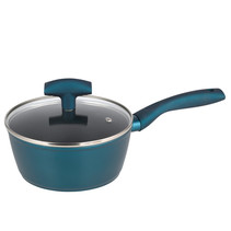 Michelino 46114 - steelpan - 18 cm - petrol blauw
