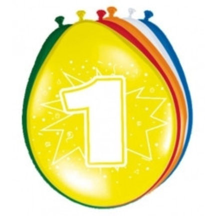 Goedkoop verjaardag ballonnen 1 jaar online kopen