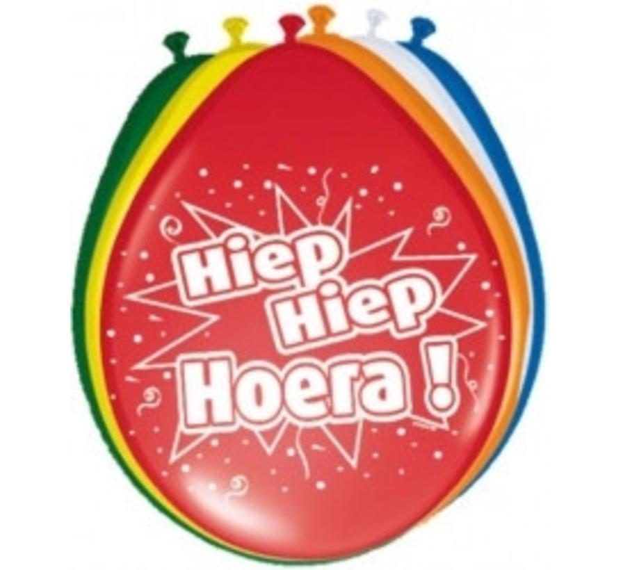 Ballon Hiep Hiep Hoera!