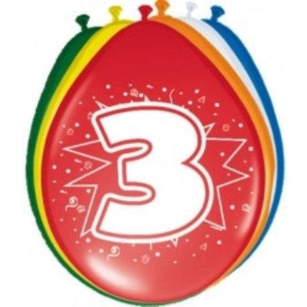 Goedkoop verjaardag ballonnen 3 jaar online kopen