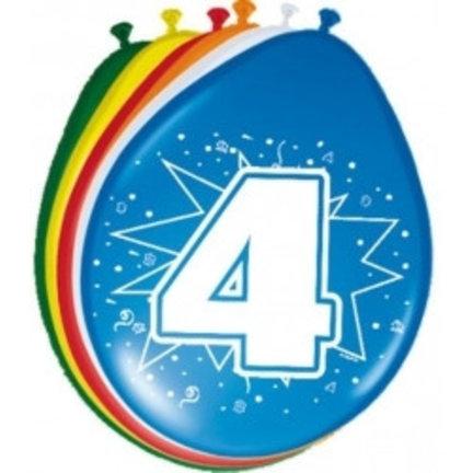 Goedkoop verjaardag ballonnen 4 jaar online kopen