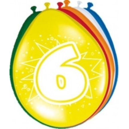 Goedkoop ballonnen 6 jaar online kopen