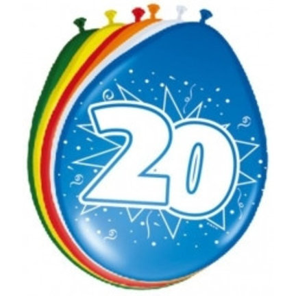Goedkoop ballonnen 20 jaar online kopen