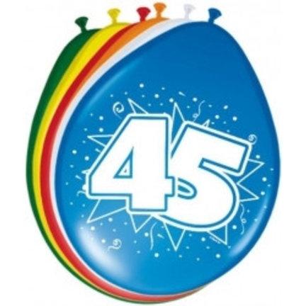 Goedkoop ballonnen 45 jaar online kopen