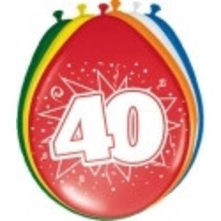 Goedkoop ballonnen 40 jaar online kopen