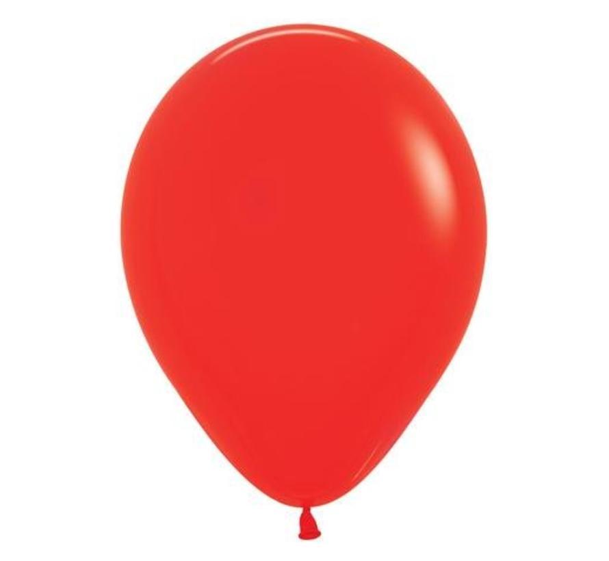 Rode Ballonnen - 10 stuks