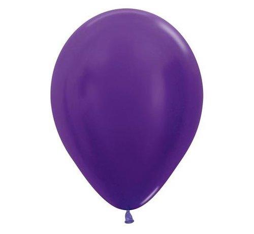 Paarse Ballonnen - 10 stuks