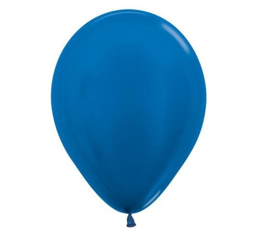 Donkerblauwe Ballonnen - 10 stuks