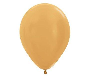 Gouden Ballonnen - 10 stuks