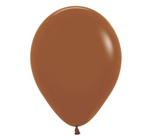 Bruine Ballonnen - 10 stuks