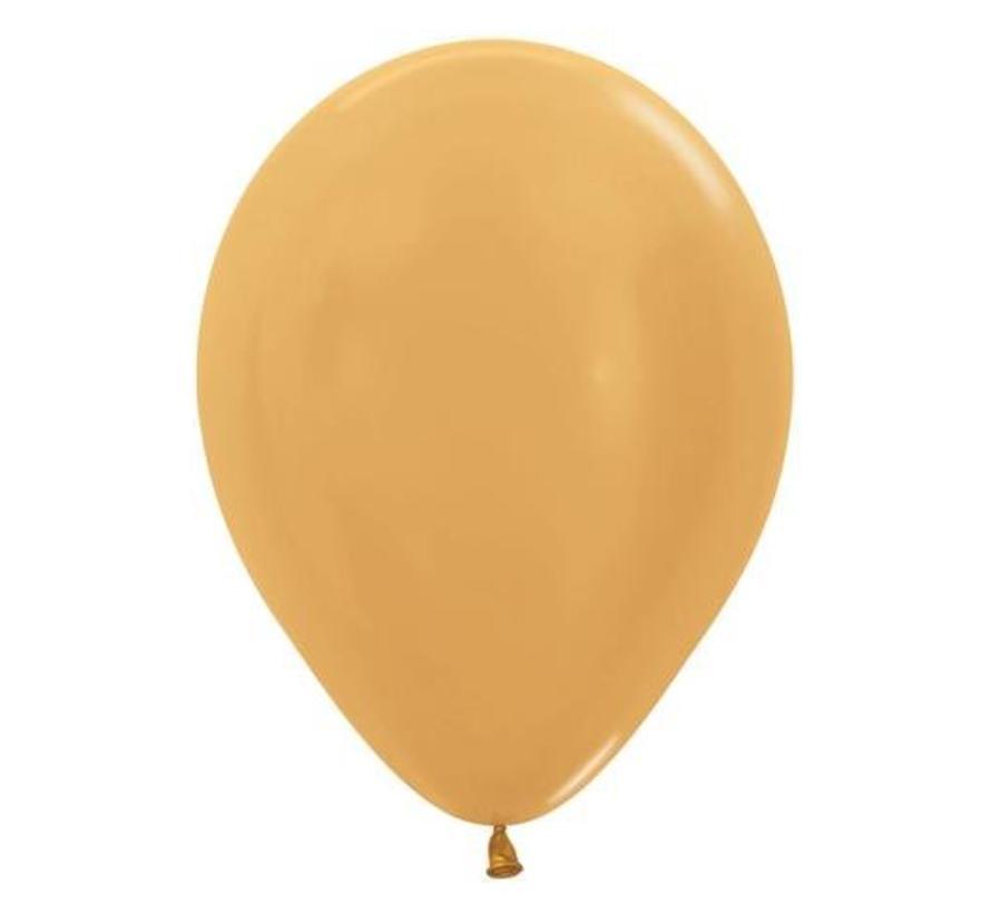 Gouden ballonnen