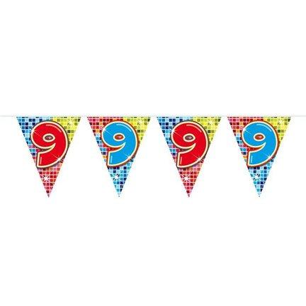Goedkoop vlaggetjes 9 jaar online kopen