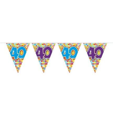 Goedkoop vlaggetjes 40 jaar online kopen
