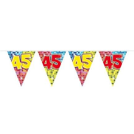 Goedkoop vlaggetjes 45 jaar online kopen