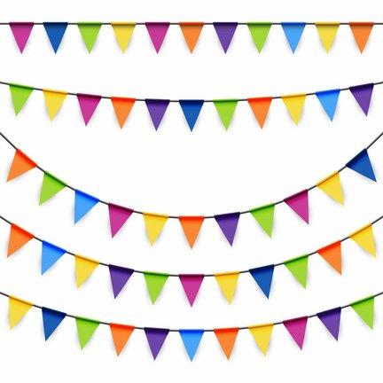 Goedkoop gekleurde slingers online kopen