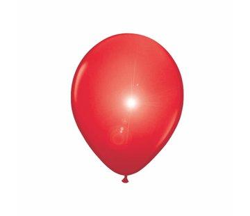 Led Ballonnen Rood 25cm - 5 stuks