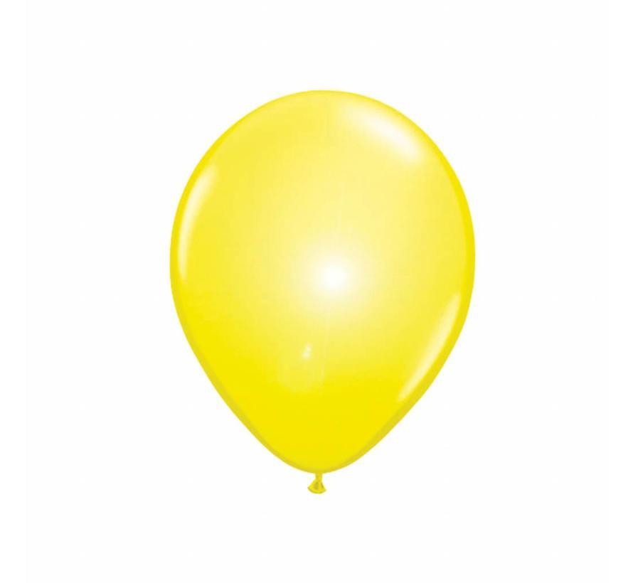 Led Ballonnen Geel - 5 stuks