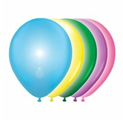 Gekleurde led ballonnen - 5 stuks