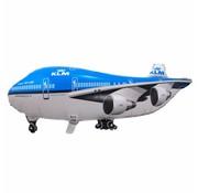 Ballonfiguur XL Vliegtuig KLM  - per stuk
