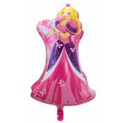 Ballonfiguur Prinses 20cm - Per Stuk