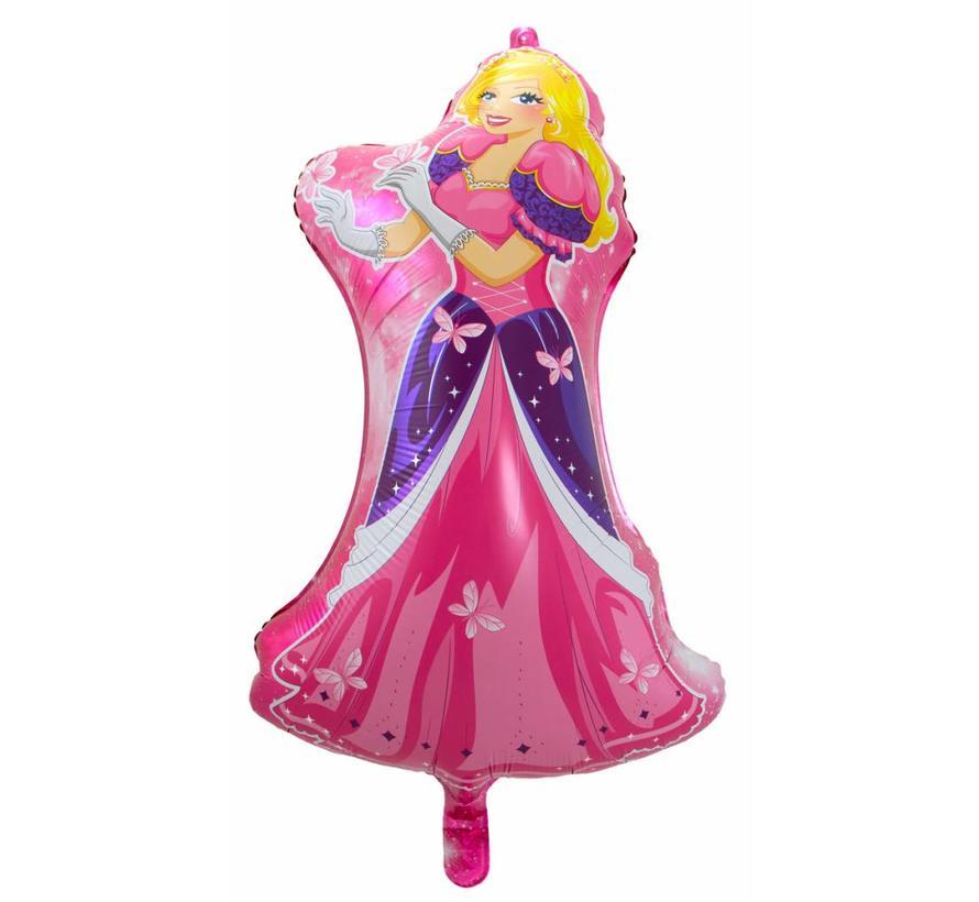 Ballonfiguur Prinses - per stuk