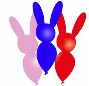 Ballonfiguur Konijn - 8 stuks