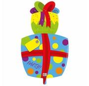 Ballonfiguur Cadeau 46cm - Per Stuk